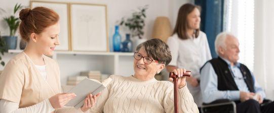 Seniorenresidenz - Pflege und Wohnen mit hohem Komfort