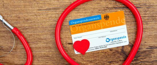 Organspendeausweis: Dokumentierte Spendenbereitschaft