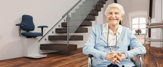 Treppenlift: Mit diesen Kosten müssen Sie rechnen