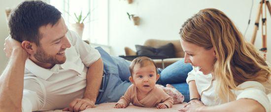 Erstes Kind: Diese Vorsorge brauchen junge Familien