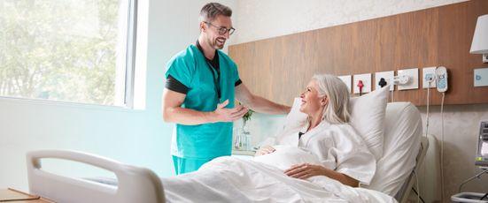 Krankenhaustagegeld – keine Geldsorgen in der Klinik